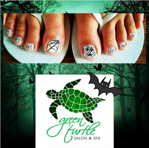 Green Turtle Nail Salon Henderson NV - Halloween Nails