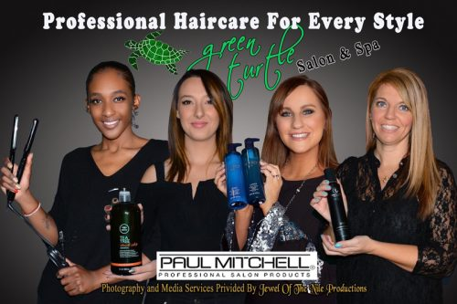 The team at Green Turtle Salon